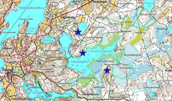 Salo Pernio Hamarijarvi Ja Isosuo Turun Lintutieteellinen